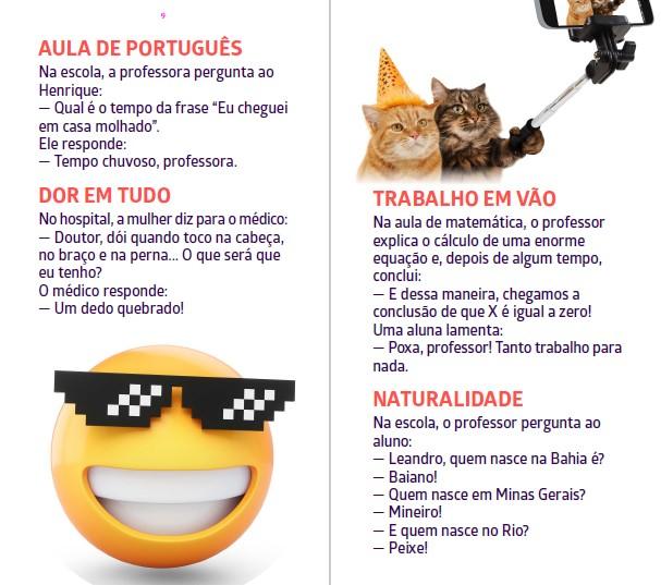 Piadas Para Todos Ed. 49 - Humor Inteligente e Consciente  - PRODUTO DIGITAL (PDF)