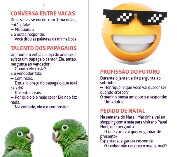 Piadas Para Todos Ed. 50 - Humor Inteligente e Consciente  - PRODUTO DIGITAL (PDF)