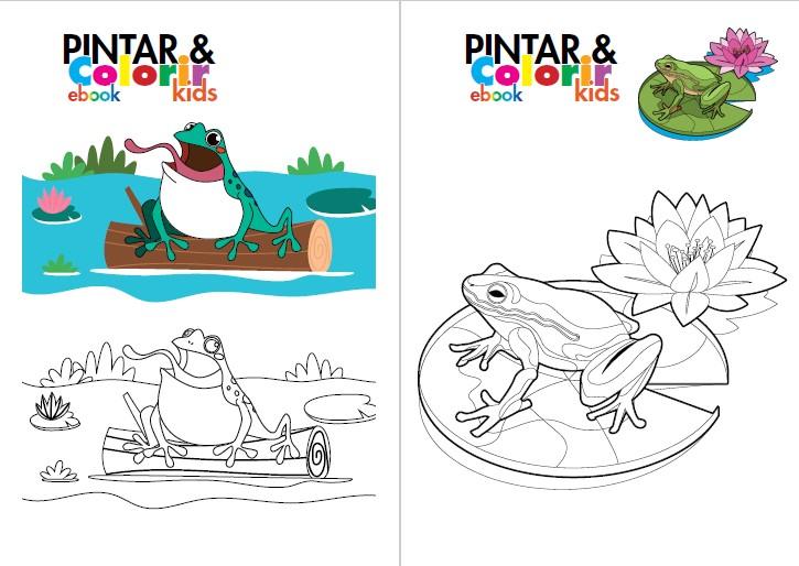 Pintar e Colorir Kids Ed. 27 - Cut - fofo - PRODUTO DIGITAL (PDF)