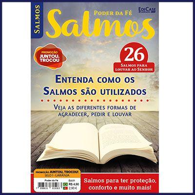 Poder da Fé Ed. 01 - Salmos  - EdiCase Publicações