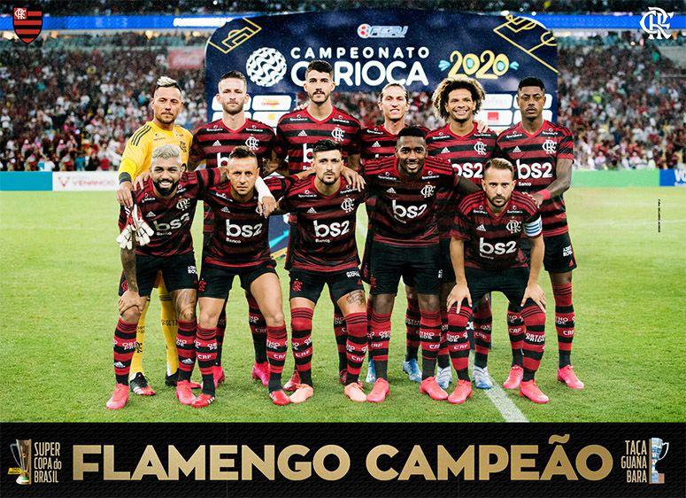 Pôster Flamengo 2020 Ed. 01   - EdiCase Publicações