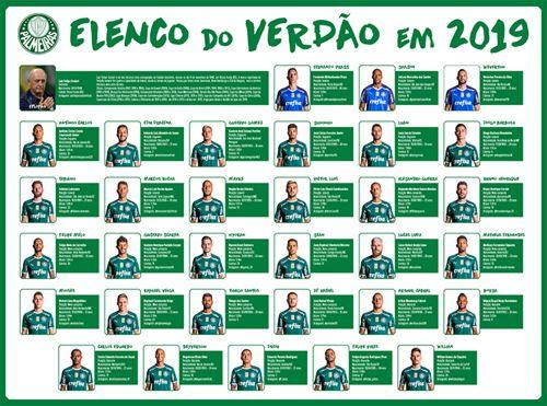 Pôster Palmeiras BR Ed. 01 - 2019  - EdiCase Publicações