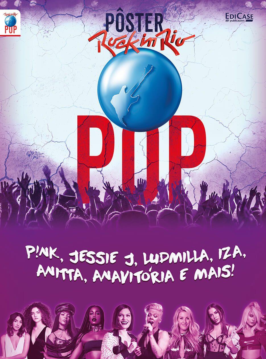 Pôster Rock In Rio 2019 Ed. 02 - POP