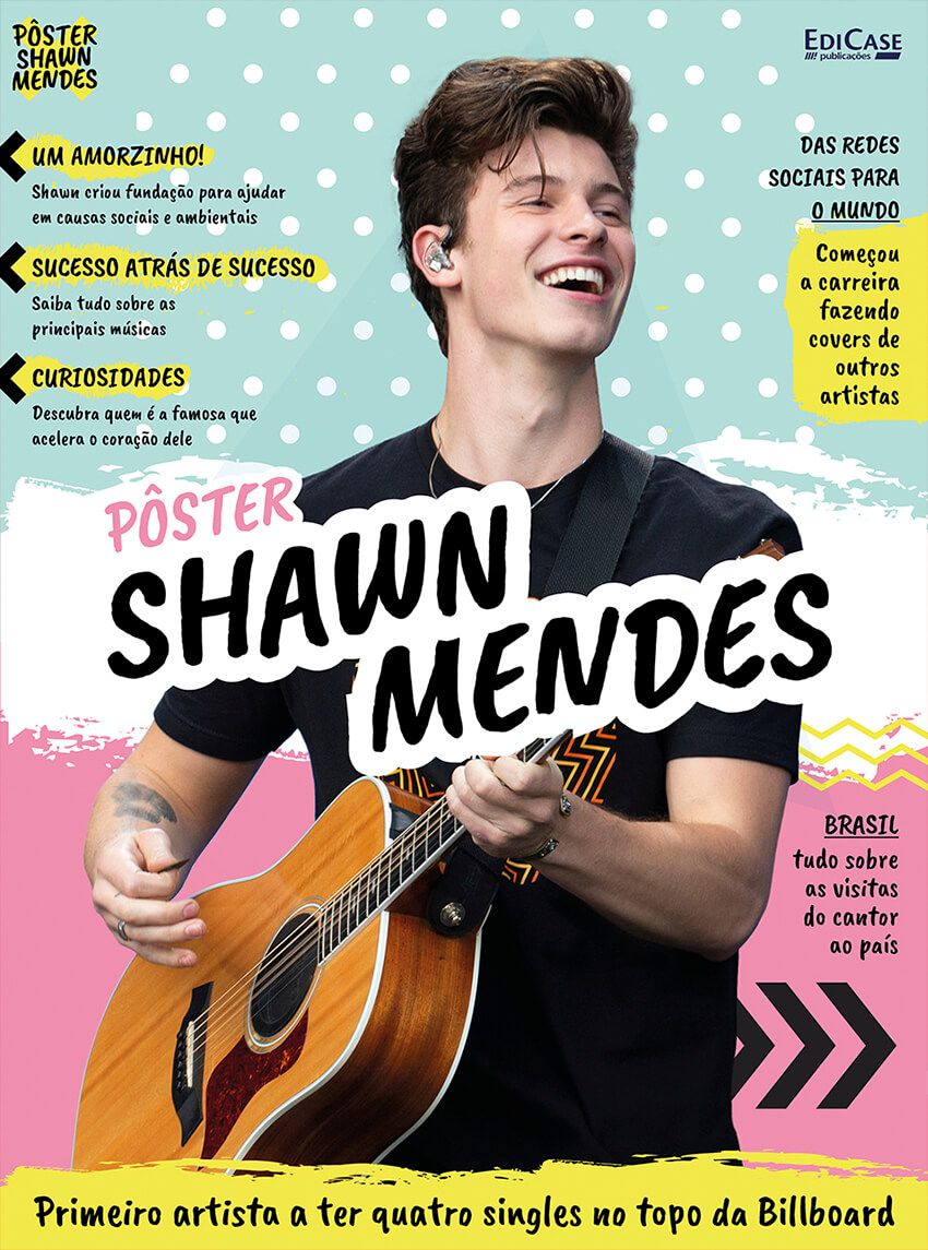 Pôster Shawn Mendes Ed. 01