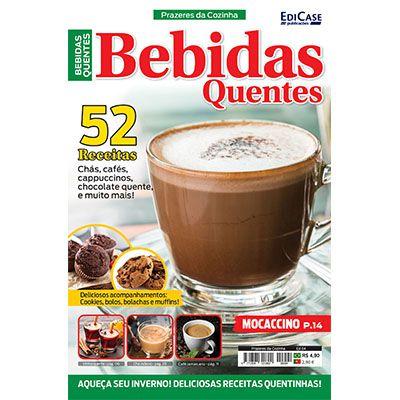 Prazeres da Cozinha Ed. 04 - Bebidas Quentes  - EdiCase Publicações