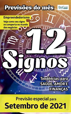 Previsões do Mês Ed. 39 - Setembro/21 - 12 Signos - PRODUTO DIGITAL (PDF)