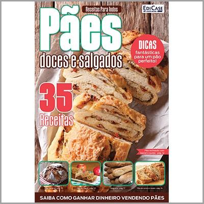 Receitas Para Todos Ed. 02 - Pães Doces e Salgados  - EdiCase Publicações