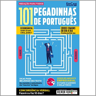 Redação Para Todos Ed. 02 - 101 Pegadinhas de Português  - EdiCase Publicações