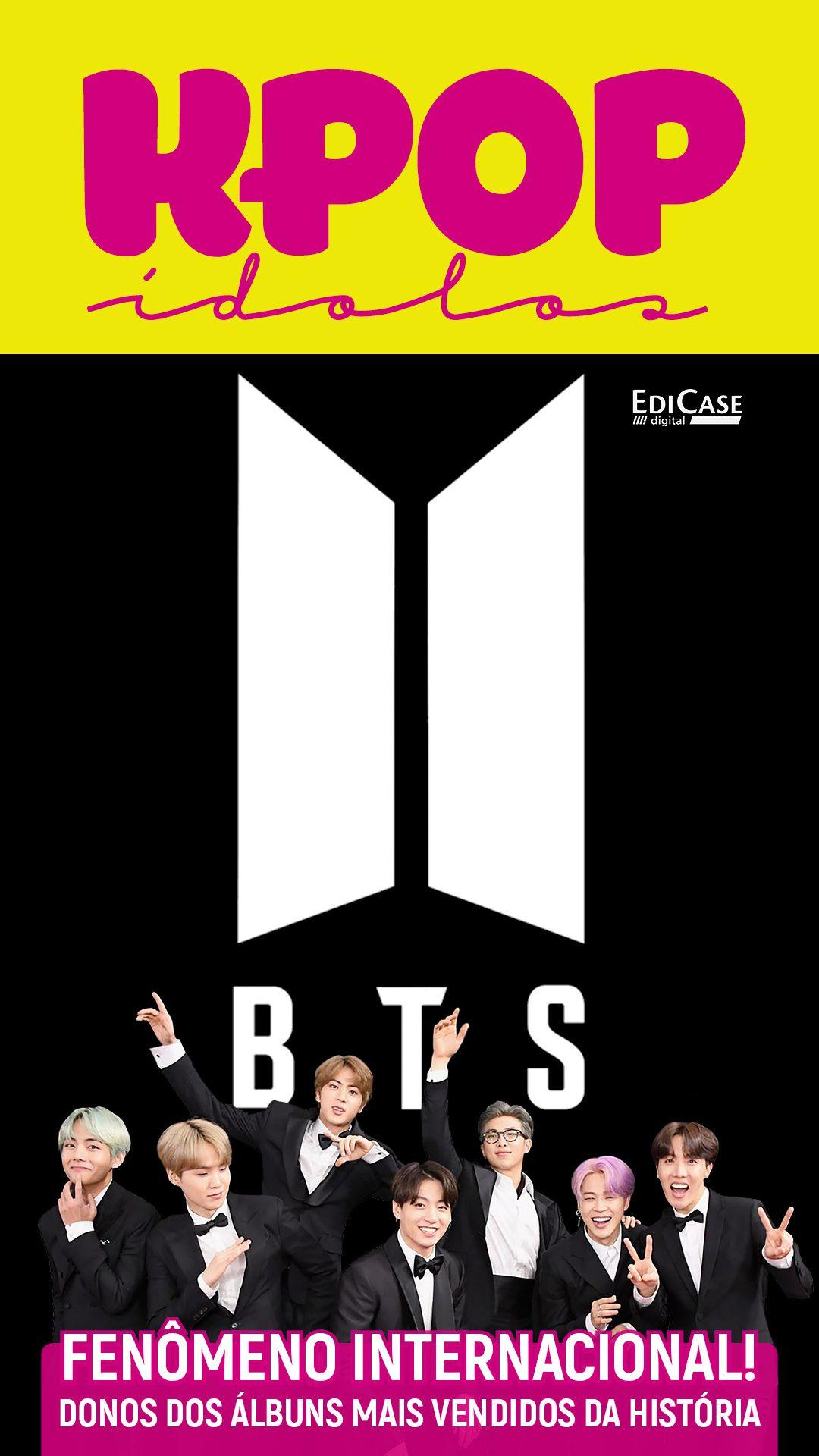 Revista Pôster - Artista de Sucesso Ed. 01 - K-POP ÍDOLOS - BTS - PRODUTO DIGITAL (PDF)  - EdiCase Publicações