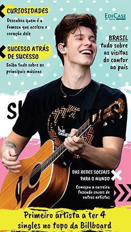 Revista Pôster - Artista de Sucesso Ed. 04 - Shawn Mendes - PRODUTO DIGITAL (PDF)  - EdiCase Publicações