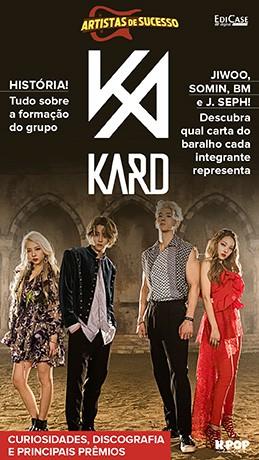 Revista Pôster - Artista de Sucesso Ed. 11 - Kard- PRODUTO DIGITAL (PDF)  - EdiCase Publicações