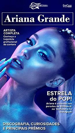 Revista Pôster - Artista de Sucesso Ed. 13 - Ariana Grande - PRODUTO DIGITAL (PDF)