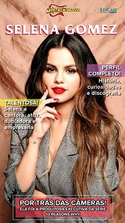Revista Pôster - Artista de Sucesso Ed. 15 - Selena Gomez - PRODUTO DIGITAL (PDF)
