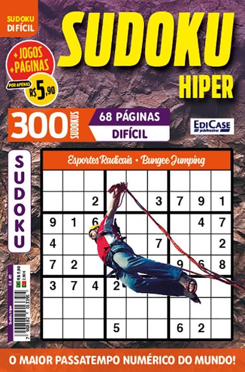 Sudoku Hiper Ed. 65 - Difícil - Só Jogos 9x9 - Esportes Radicais - Bungee Jumping
