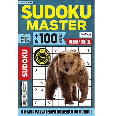 Sudoku Master Ed. 11 - Médio/Difícil - Só jogos 9x9  - EdiCase Publicações