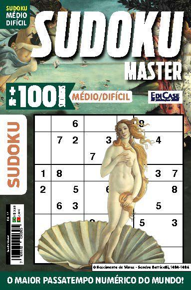 Sudoku Master Ed. 17 - Médio/Difícil - Só jogos 9x9 - Vênus  - EdiCase Publicações