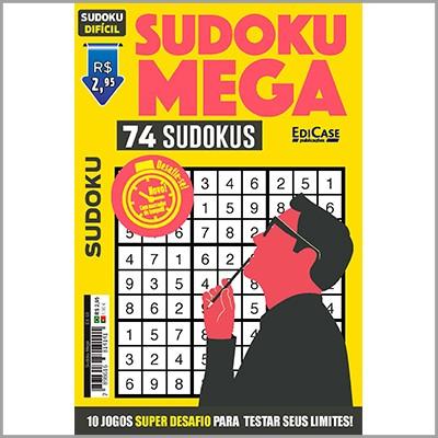Sudoku Mega Ed. 03 - Difícil  - EdiCase Publicações