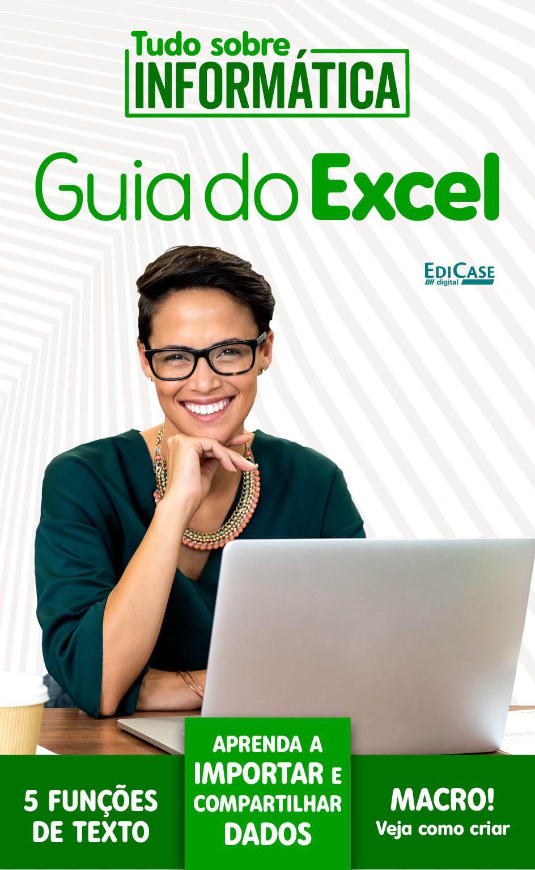 Tudo Sobre Informática Ed.03 - Guia do Excel - *PRODUTO DIGITAL (PDF)  - EdiCase Publicações