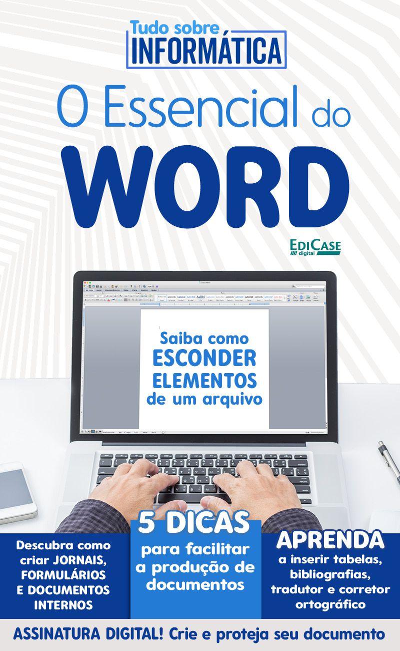 Tudo Sobre Informática Ed. 08 - O Essencial do Word - PRODUTO DIGITAL (PDF)  - EdiCase Publicações