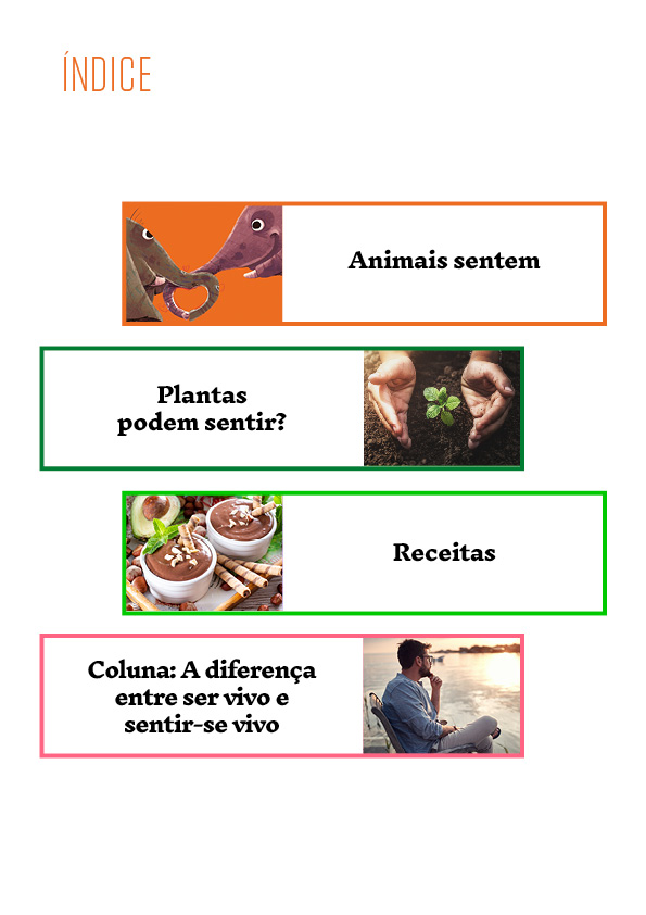 Veganismos Ed. 11 - Os animais sentem  - PRODUTO DIGITAL (PDF)