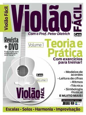 Violão Fácil Profº Peter Dietrich Vol. 01 - VERSÃO PARA DOWNLOAD  - EdiCase Publicações