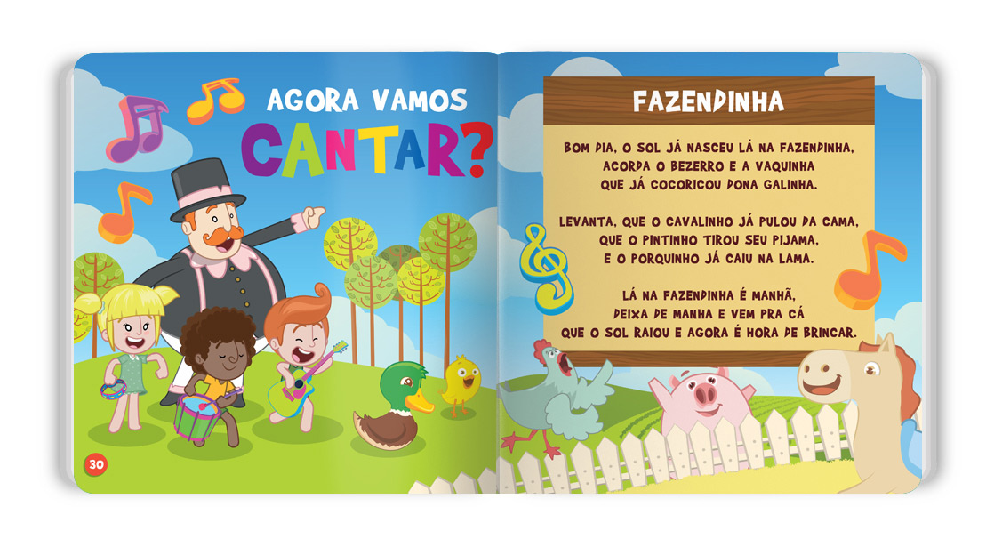 Mundo Bita: Animais da Fazenda Capa Dura  - Lojinha do Bita