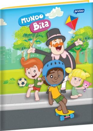 Caderno Brochura Grande - Tema: Esportes  - Lojinha do Bita