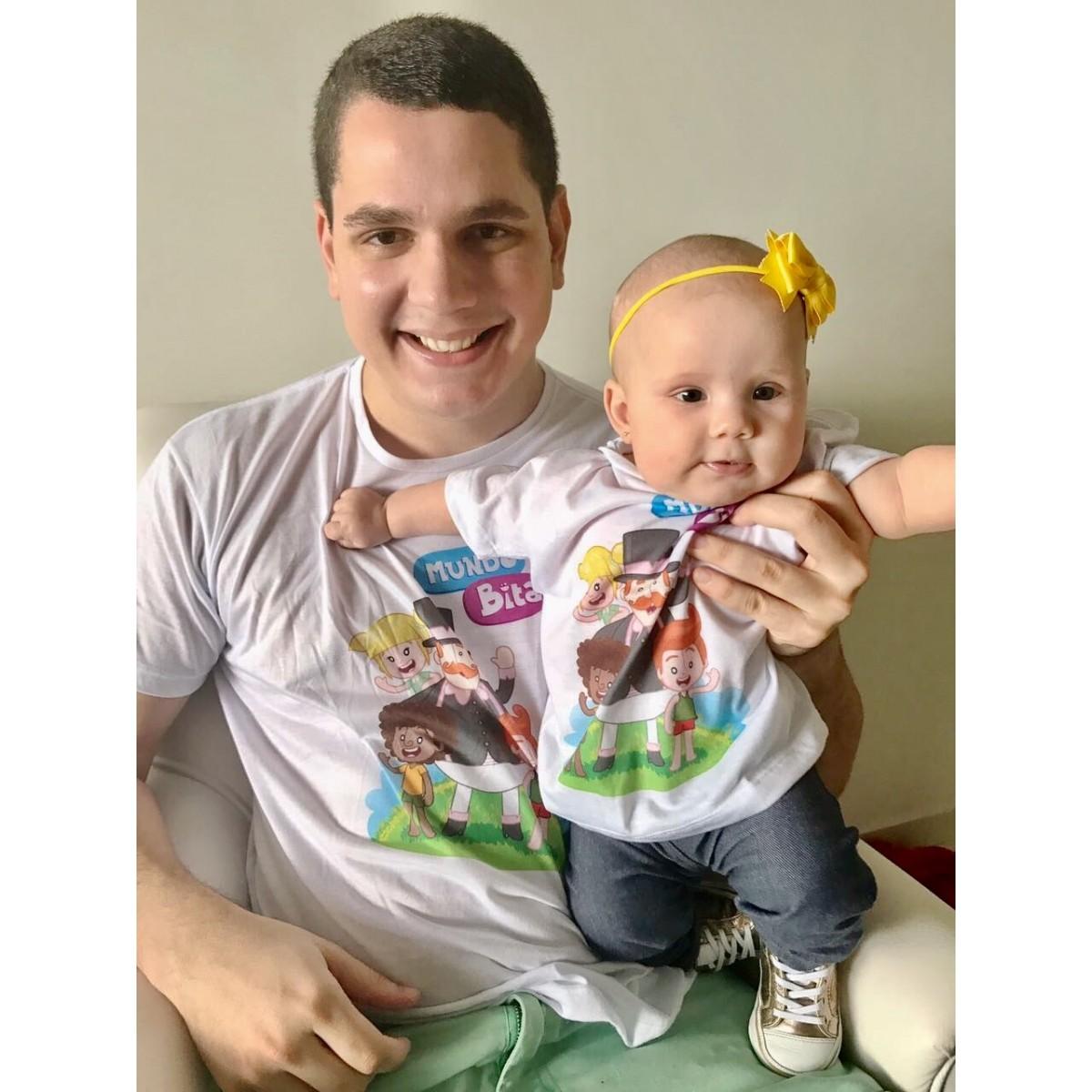 Camisas Pai e Filho  - Lojinha do Bita