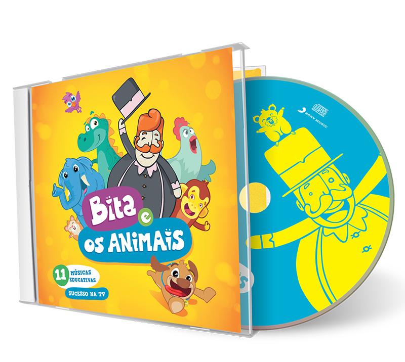 CD BITA E OS ANIMAIS  - Lojinha do Bita