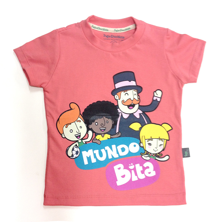 Camiseta Mundo do Bita  - Lojinha do Bita