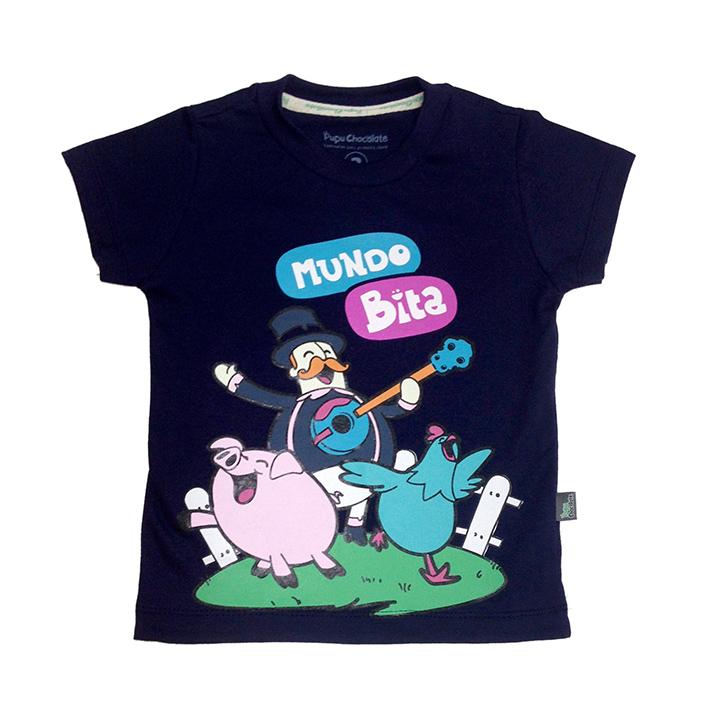 Camiseta Fazendinha  - Lojinha do Bita