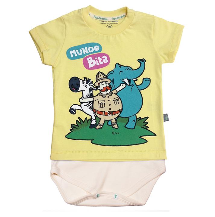 Camisetas-body Safari  - Lojinha do Bita