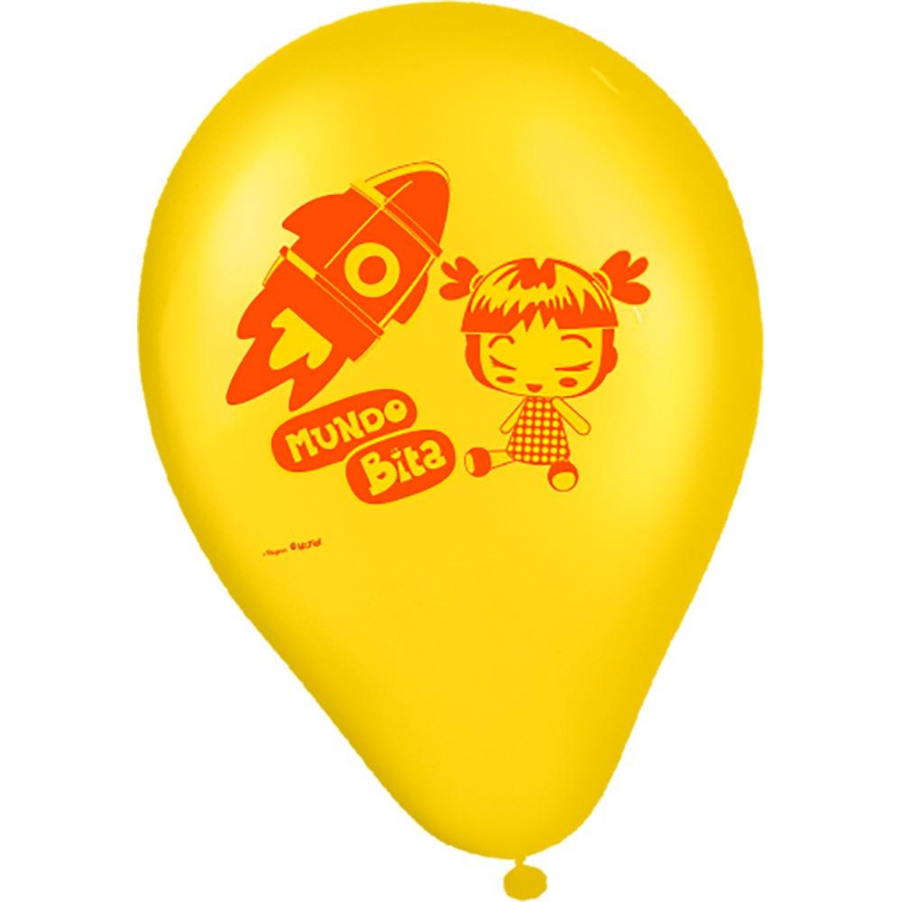 Balão Latex Redondo  - Lojinha do Bita