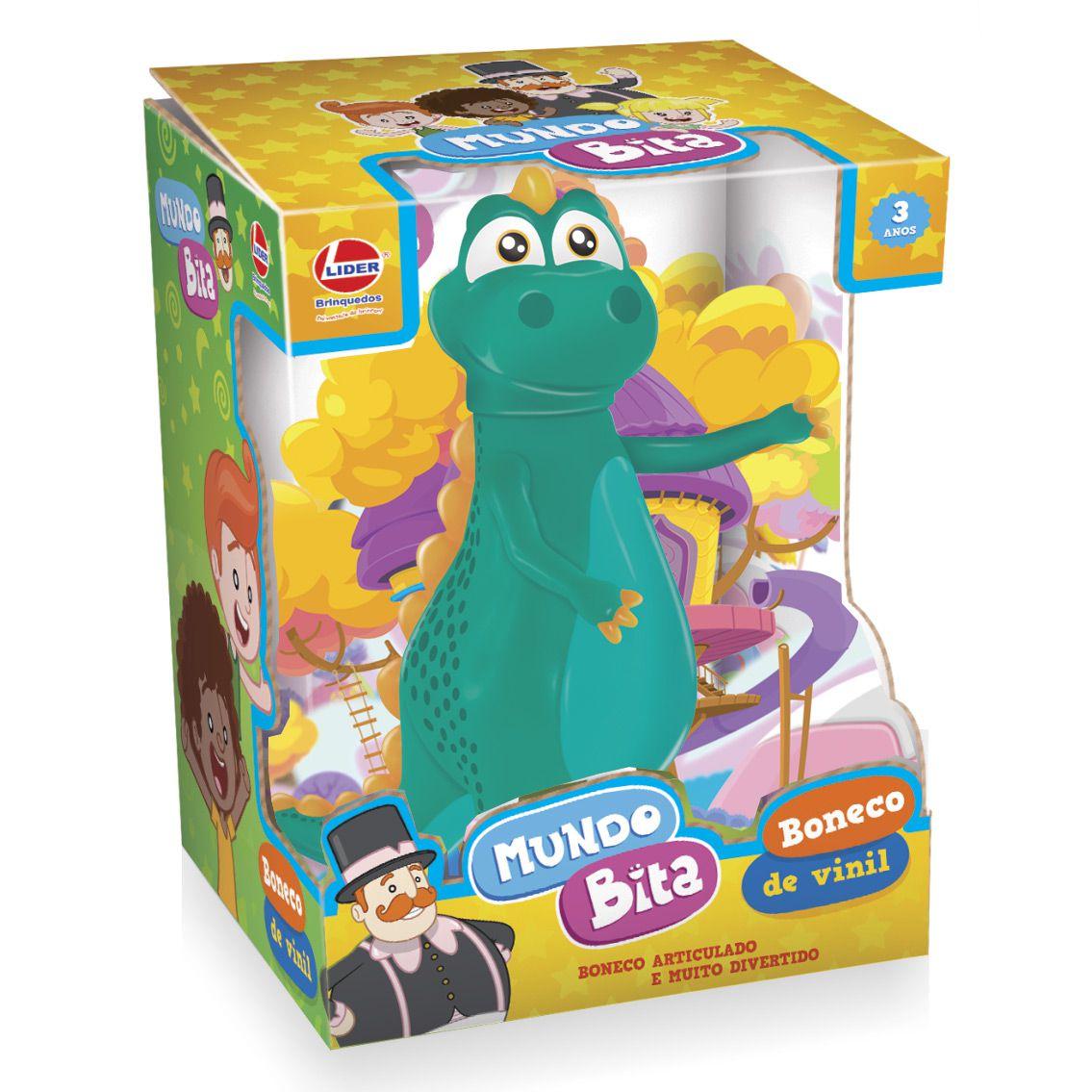 Dinossauro Argo em vinil  - Lojinha do Bita