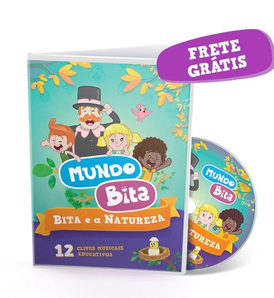 DVD BITA E A NATUREZA :: FRETE INCLUSO
