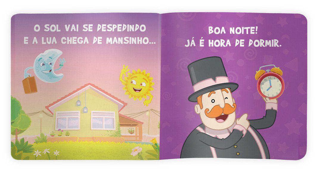 Hora de Dormir (Livro de Pano)  - Lojinha do Bita