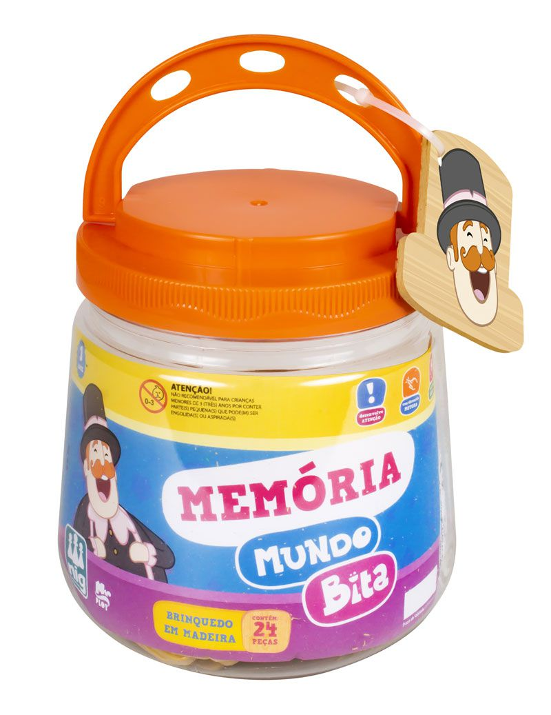 Jogo da Memória  - Lojinha do Bita