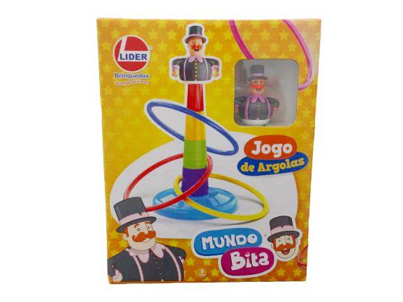 Jogo de Argolas  - Lojinha do Bita