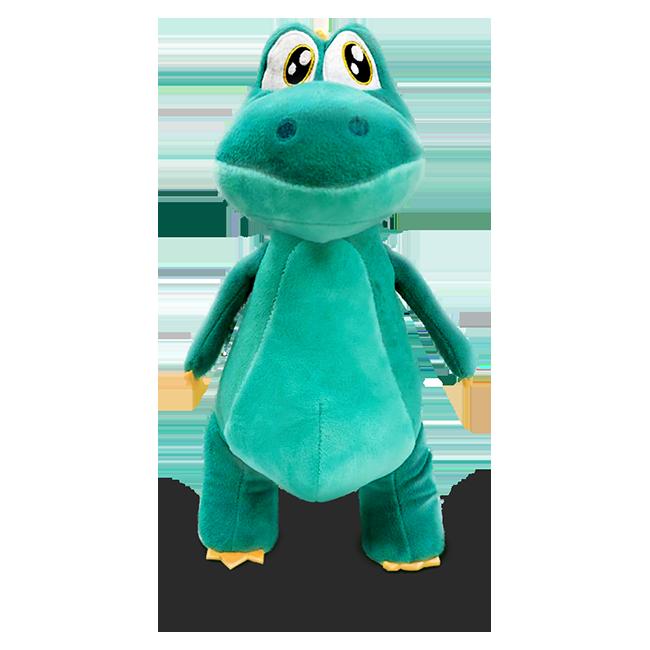 Pelúcia Dinossauro Argo  - Lojinha do Bita