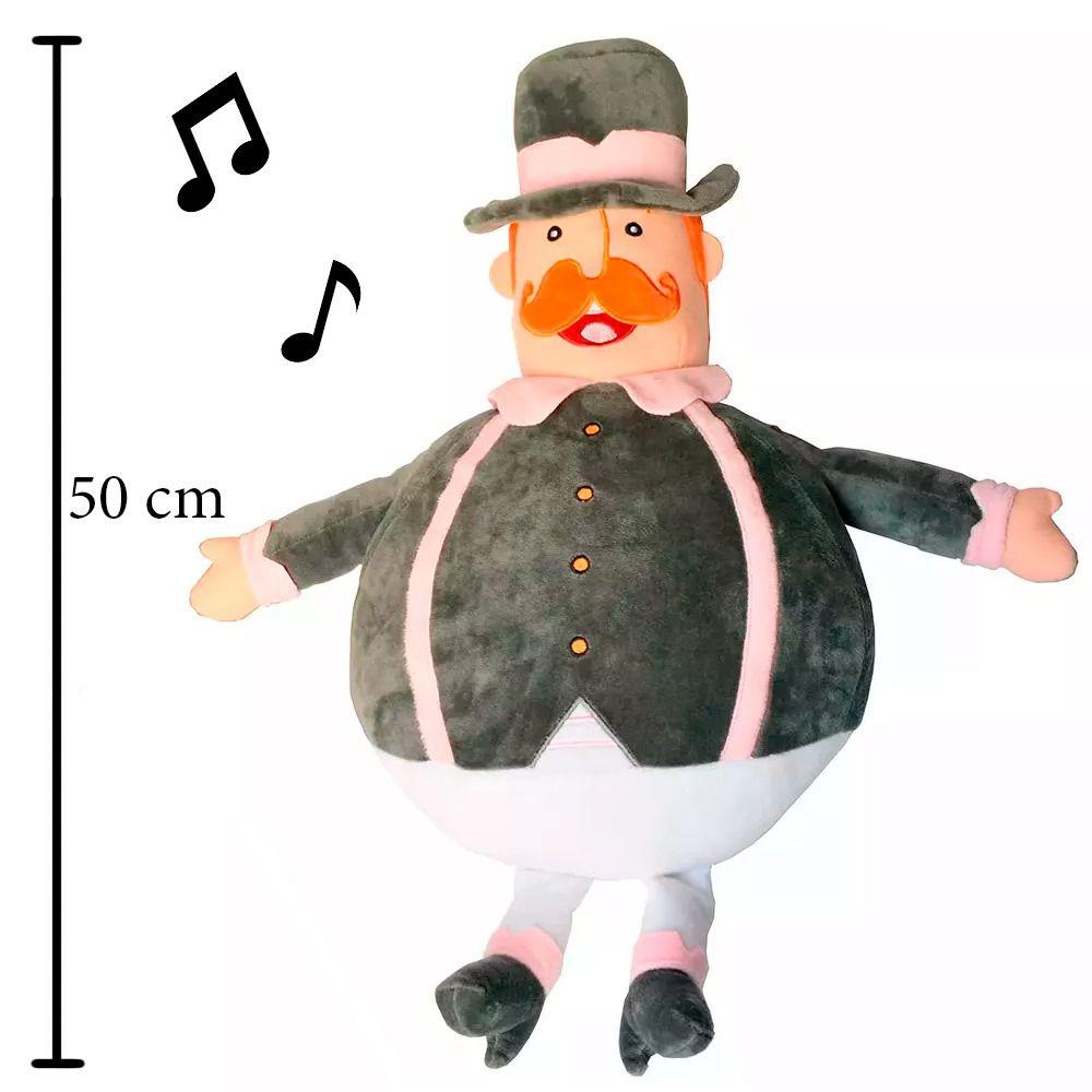 Pelúcia Musical  - Lojinha do Bita