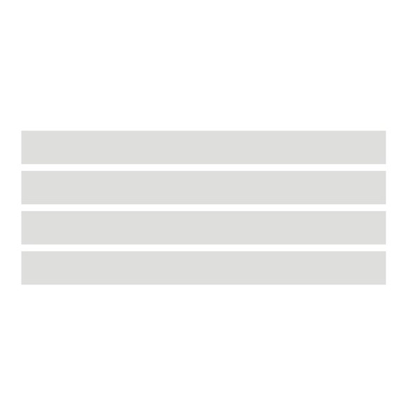 109 - Adesivo Jateado para Vidro - 5 faixas 1,00 x 0,15m  - FAC Signs Impressão Digital