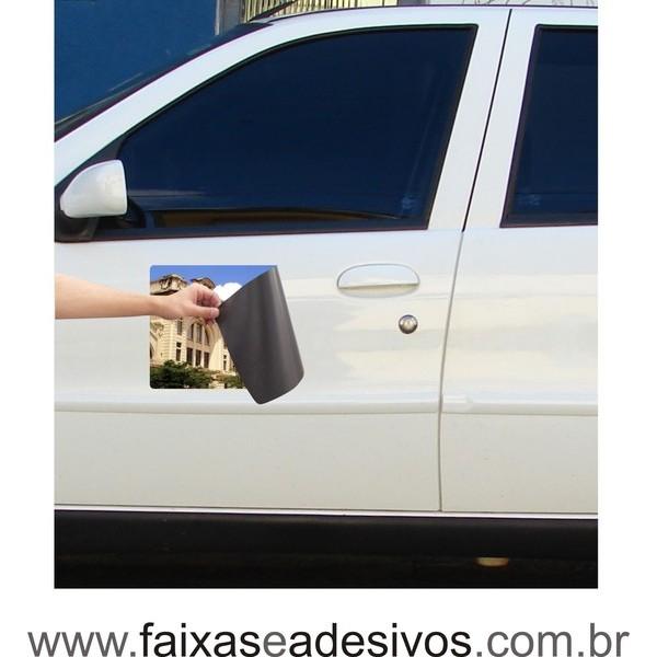 804 - Imã Flexivel para Carro 30x40cm - Envie arte pronta ou solicite a sua!  - FAC Signs Impressão Digital