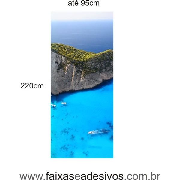 300 - Adesivos para Porta de vidro decorada com foto  - FAC Signs Impressão Digital