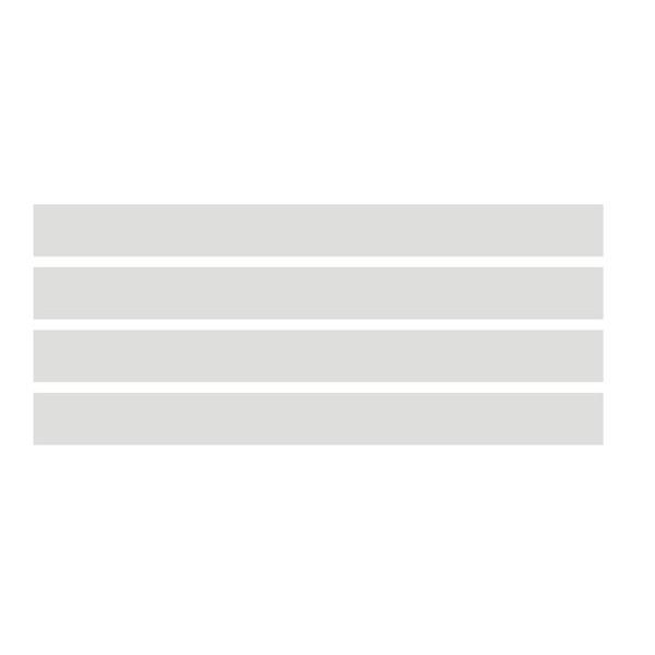 102 - Adesivo Jateado - 5 faixas adesivas de 10x100cm  - FAC Signs Impressão Digital