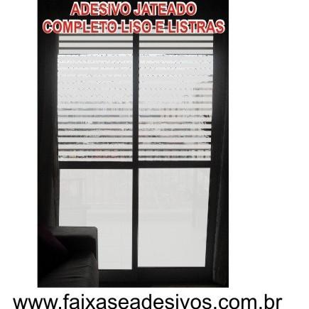 105 - Adesivo jateado para porta balcão  - FAC Signs Impressão Digital