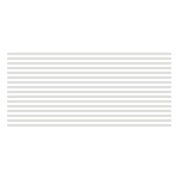 101 - Adesivo Jateado Persiana - folha com 16 tiras de 1,5 cm alt 1metro larg  - FAC Signs Impressão Digital
