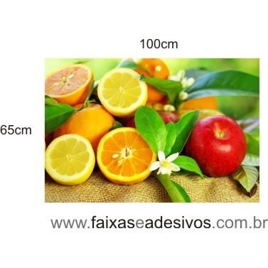 Foto Decorativa para Cozinha 1,00 x 0,65m  - FAC Signs Impressão Digital