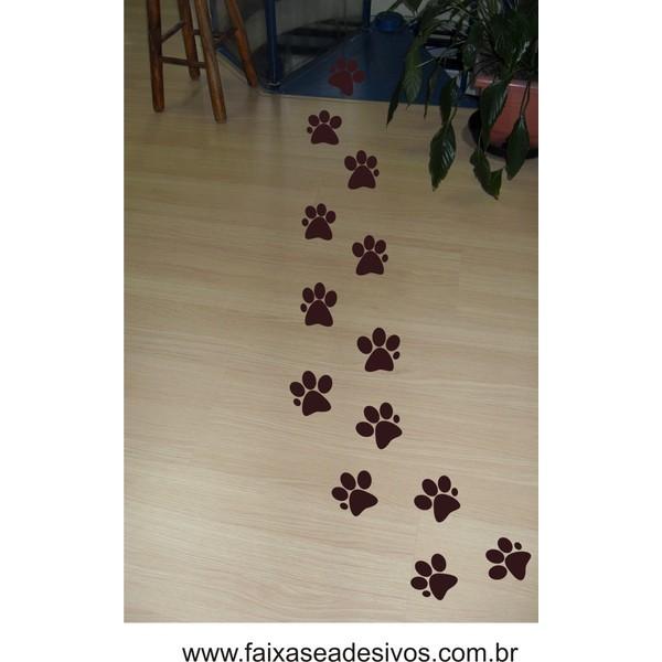 Adesivo Páscoa Patinhas de Coelho 7cm ´30 peças´  - FAC Signs Impressão Digital