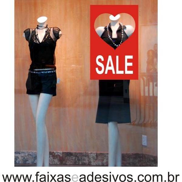 Adesivo Sale 45 x 70cm love  - Fac Signs