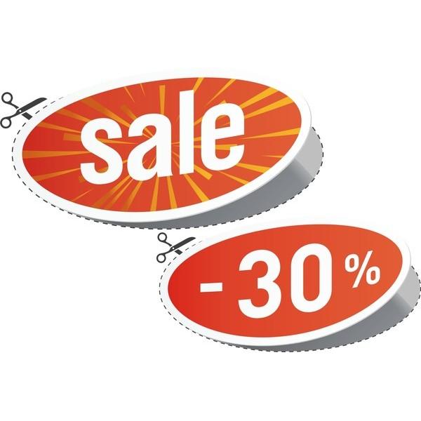 Adesivo Sale 0,50 x 0,80cm  - FAC Signs Impressão Digital